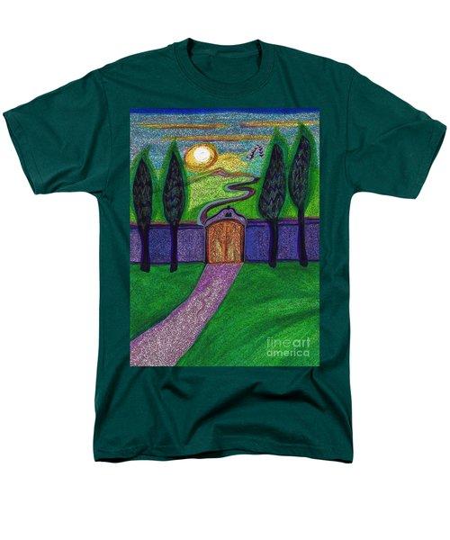 Metaphor Door By Jrr Men's T-Shirt  (Regular Fit) by First Star Art