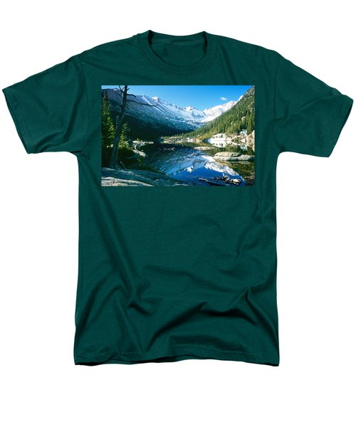 Mills Lake Men's T-Shirt  (Regular Fit) by Eric Glaser