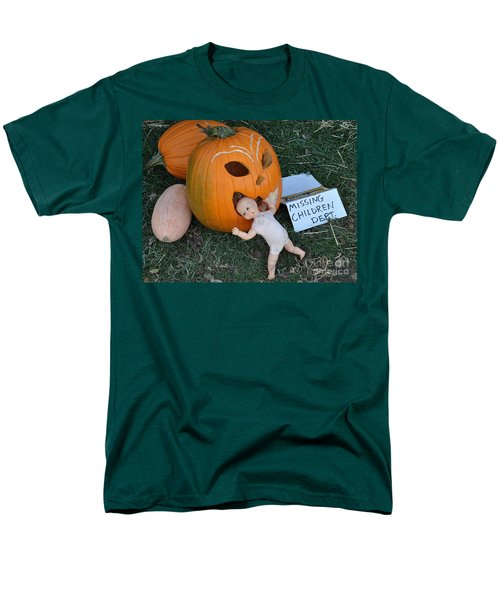Missing Children Department Men's T-Shirt  (Regular Fit) by Minnie Lippiatt