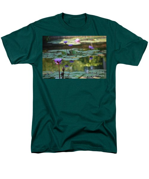 Monet's Waterlily Pond Number Two Men's T-Shirt  (Regular Fit) by Heather Kirk