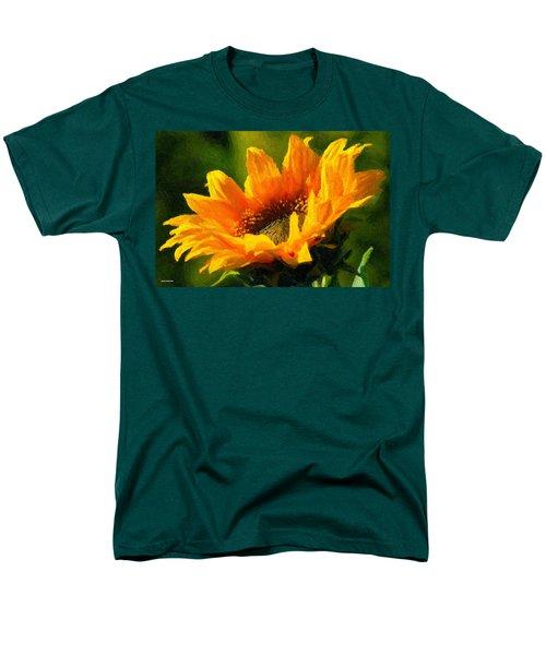 Men's T-Shirt  (Regular Fit) featuring the digital art Morning Light by Chuck Mountain