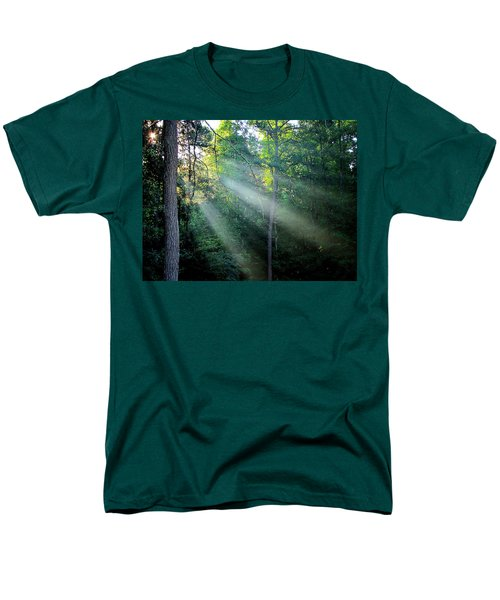 Men's T-Shirt  (Regular Fit) featuring the photograph Morning Rays by Greg Simmons