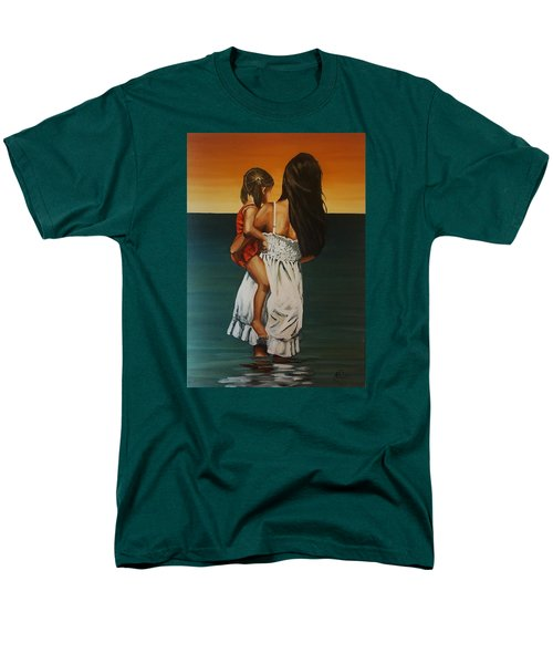 Mother And Daughter II Men's T-Shirt  (Regular Fit) by Natalia Tejera