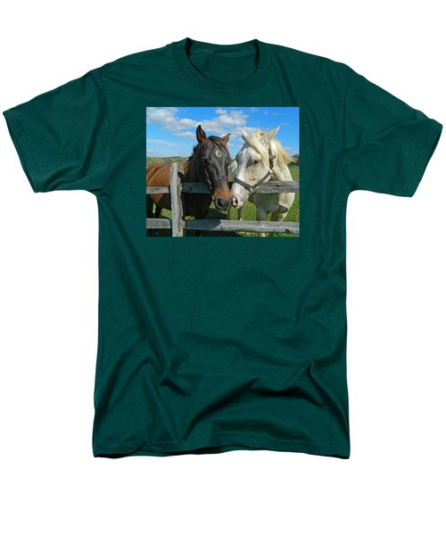 My Buddy Men's T-Shirt  (Regular Fit) by Emmy Marie Vickers