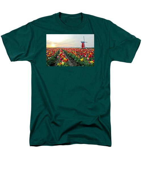 My Touch Of Holland 2 Men's T-Shirt  (Regular Fit) by Nick  Boren