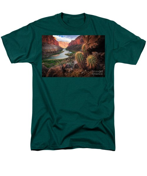 Nankoweap Cactus Men's T-Shirt  (Regular Fit) by Inge Johnsson