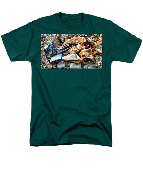 Nature Rocks Men's T-Shirt  (Regular Fit) by Peggy Franz