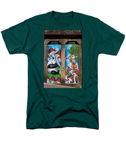 Noah's Ark Men's T-Shirt  (Regular Fit) by Edgar Laureano