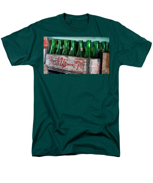 Old 7 Up Bottles Men's T-Shirt  (Regular Fit) by Thomas Woolworth