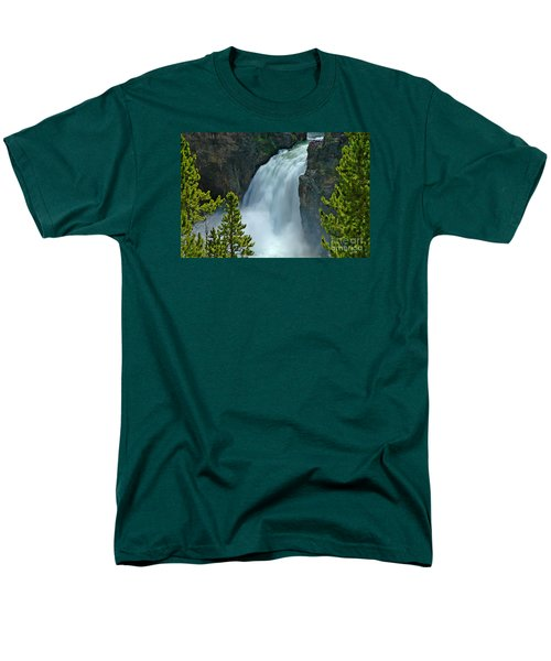 Men's T-Shirt  (Regular Fit) featuring the photograph On The Edge by Nick  Boren