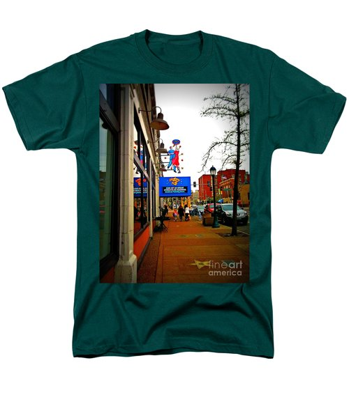 One Of Ten Great Streets Men's T-Shirt  (Regular Fit) by Kelly Awad