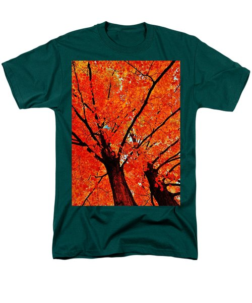Orange...the New Green Men's T-Shirt  (Regular Fit) by Daniel Thompson