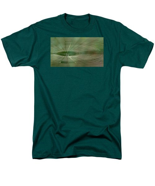 Men's T-Shirt  (Regular Fit) featuring the photograph Orchard Orbweaver #2 by Paul Rebmann