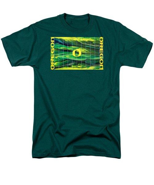 Oregon Football Men's T-Shirt  (Regular Fit) by Michael Cross