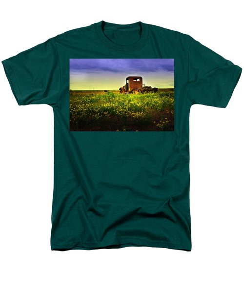Out To Pasture Men's T-Shirt  (Regular Fit) by Sonya Lang