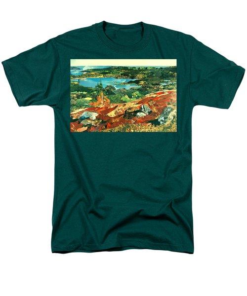 Overlooking The Bay Men's T-Shirt  (Regular Fit) by Robin Birrell