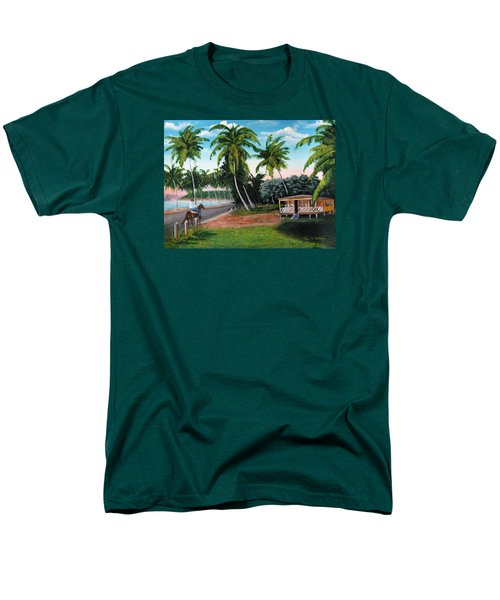 Paseo Por La Isla Men's T-Shirt  (Regular Fit) by Luis F Rodriguez