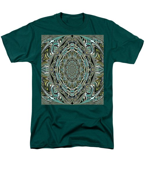 Men's T-Shirt  (Regular Fit) featuring the photograph Pattern. Art For Home And Office by Oksana Semenchenko