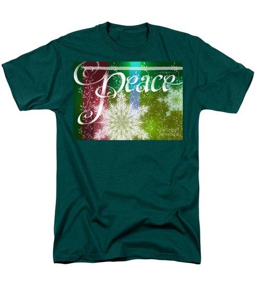Peace Greeting Men's T-Shirt  (Regular Fit)