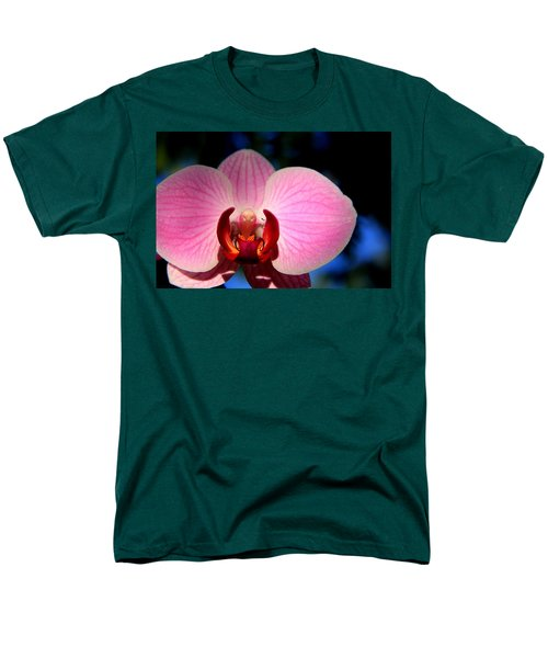 Men's T-Shirt  (Regular Fit) featuring the photograph Pink House by Greg Allore