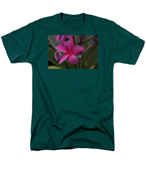 Men's T-Shirt  (Regular Fit) featuring the photograph Plumeria by Randy Bayne