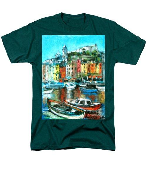Portovenere Men's T-Shirt  (Regular Fit)