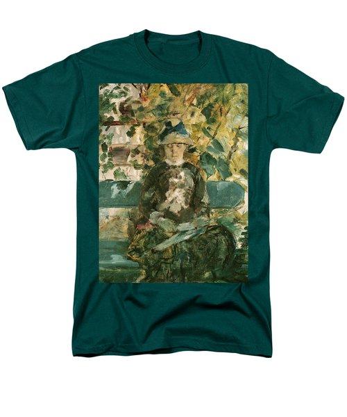 Portrait Of Adele Tapie De Celeyran Men's T-Shirt  (Regular Fit) by Henri de Toulouse-Lautrec