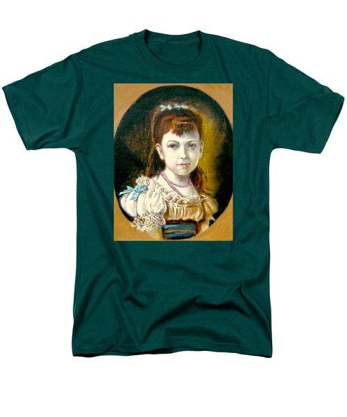 Portrait Of Little Girl Men's T-Shirt  (Regular Fit) by Henryk Gorecki