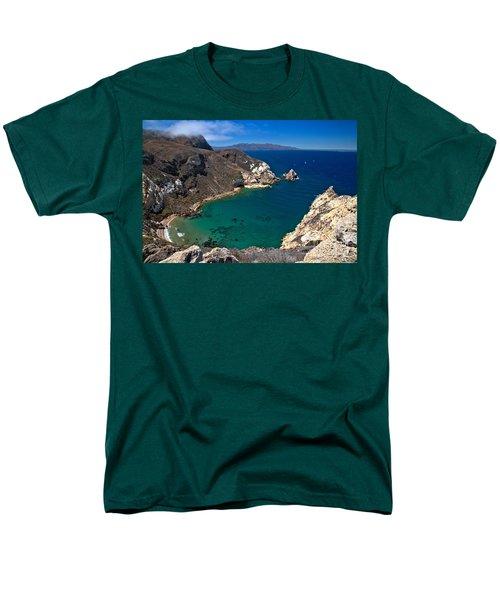 Potato Harbor Views Men's T-Shirt  (Regular Fit) by Adam Jewell