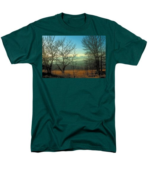 Prairie Autumn 2 Men's T-Shirt  (Regular Fit) by Terry Reynoldson