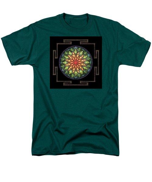 Men's T-Shirt  (Regular Fit) featuring the painting Prosperity by Keiko Katsuta