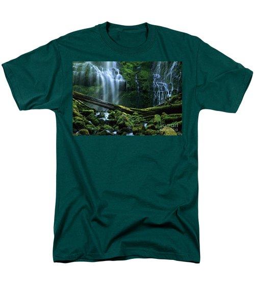 Proxy Falls Men's T-Shirt  (Regular Fit) by Bob Christopher