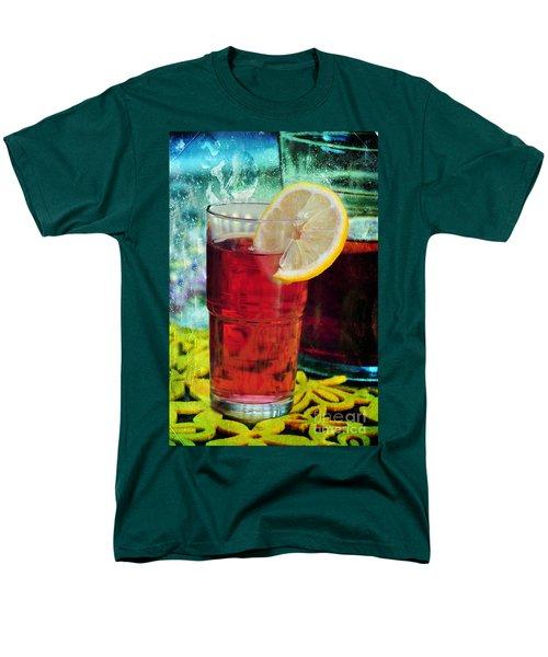 Quench My Thirst Men's T-Shirt  (Regular Fit) by Randi Grace Nilsberg