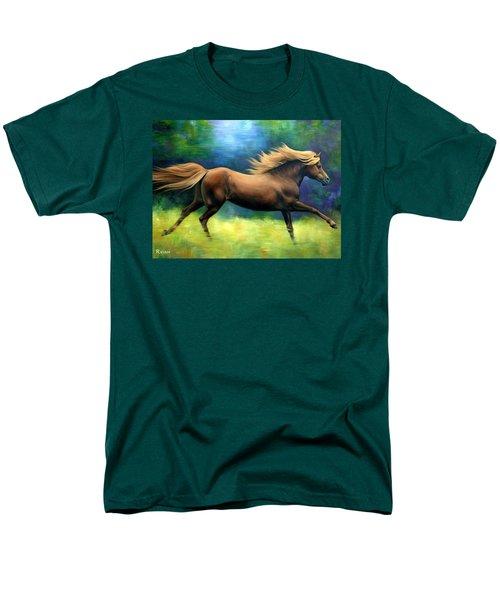 Racing  The Wind Men's T-Shirt  (Regular Fit) by Vivien Rhyan