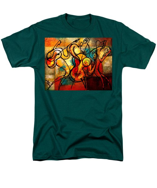 Ragtime Men's T-Shirt  (Regular Fit) by Leon Zernitsky