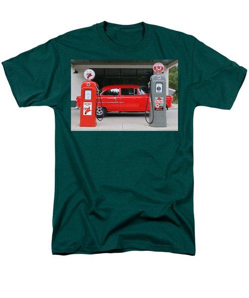 Red 55 Men's T-Shirt  (Regular Fit) by Lynn Sprowl