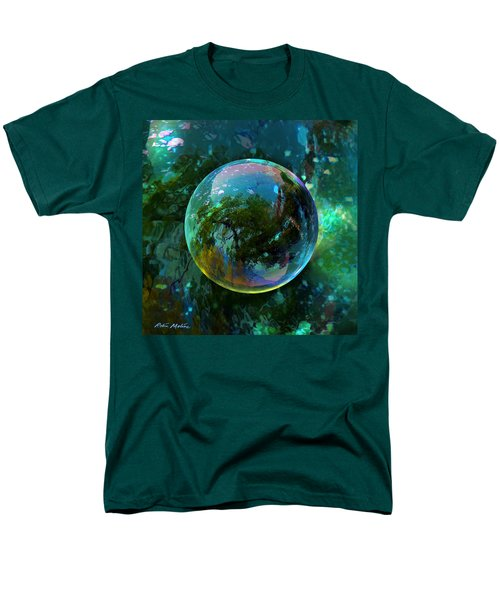 Reticulated Dream Orb Men's T-Shirt  (Regular Fit) by Robin Moline