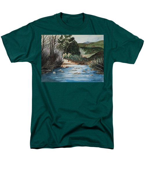 Riverscape Men's T-Shirt  (Regular Fit) by Lee Beuther