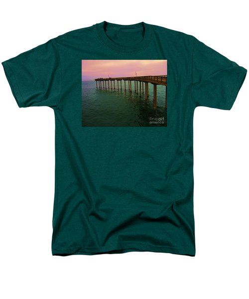 Men's T-Shirt  (Regular Fit) featuring the photograph Road To Water by Jasna Gopic