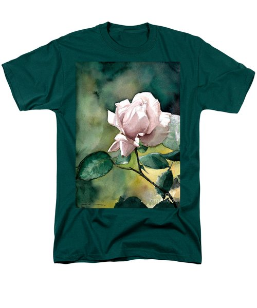 Lilac Rose  Men's T-Shirt  (Regular Fit) by Greta Corens