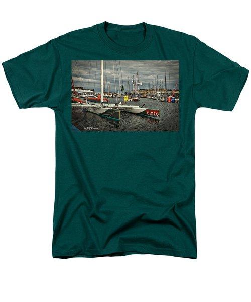 Men's T-Shirt  (Regular Fit) featuring the photograph Route Du Rhum Ready by Elf Evans