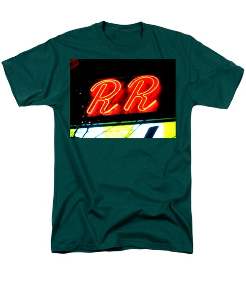 Men's T-Shirt  (Regular Fit) featuring the painting RR by Luis Ludzska