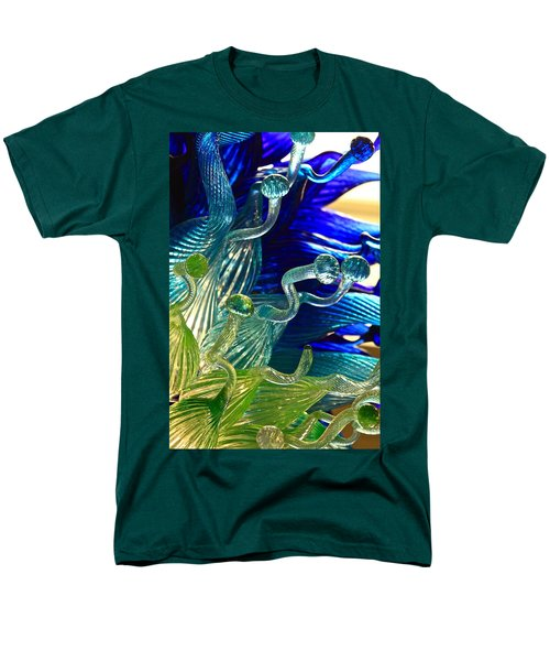 Sea Glass Men's T-Shirt  (Regular Fit) by Karon Melillo DeVega