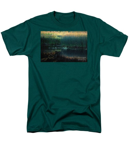 Sedges At Sunset Men's T-Shirt  (Regular Fit) by Cynthia Lagoudakis