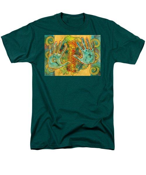 Shape Of Things Men's T-Shirt  (Regular Fit) by Lynda Hoffman-Snodgrass