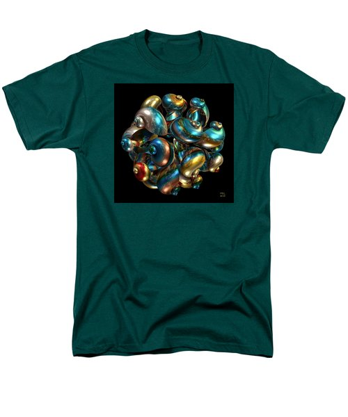 Men's T-Shirt  (Regular Fit) featuring the digital art Shell Congregation by Manny Lorenzo