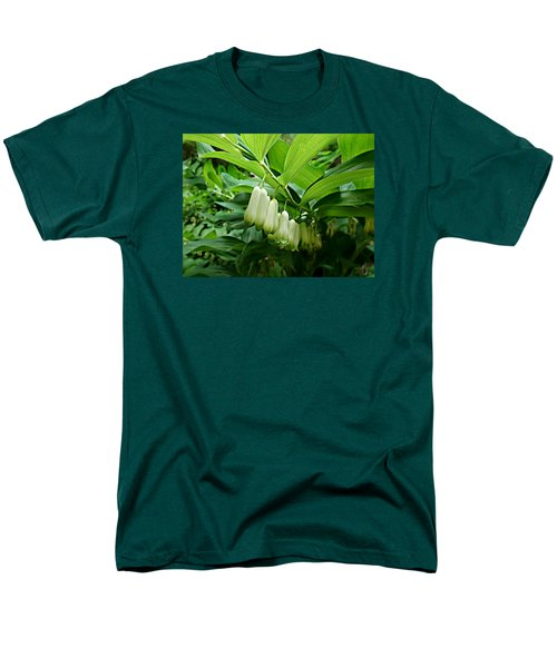 Men's T-Shirt  (Regular Fit) featuring the photograph Wild Solomon's Seal by William Tanneberger