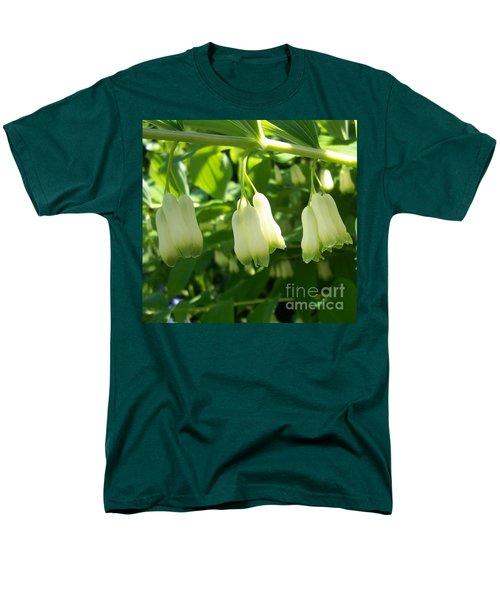 Men's T-Shirt  (Regular Fit) featuring the photograph Solomon's Seal by Jolanta Anna Karolska