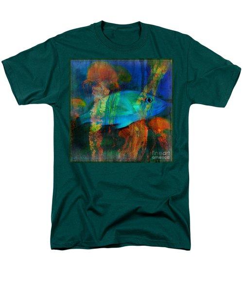 Something Fishy Men's T-Shirt  (Regular Fit) by Erika Weber