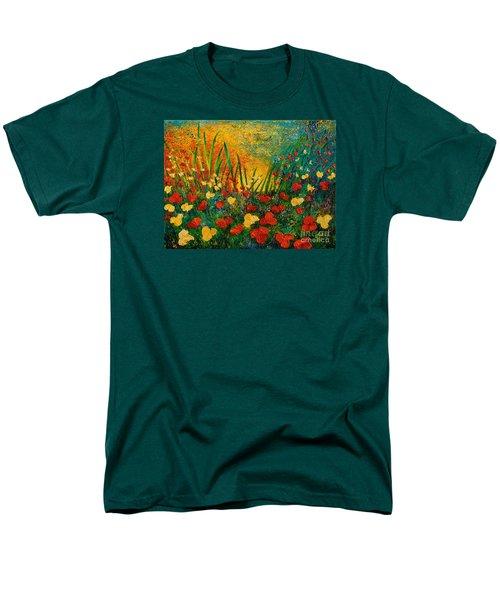 Something I Love Men's T-Shirt  (Regular Fit) by Teresa Wegrzyn